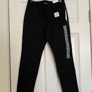 NWT Old Navy Black Petite Pixie Pants